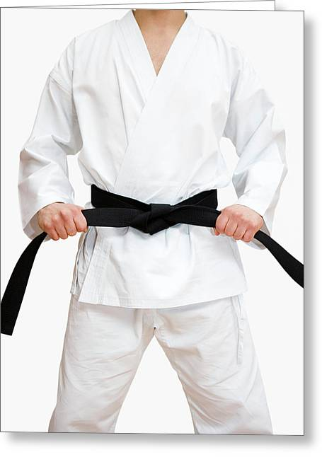 Martial arts greeting cards page 4 of 38 fine art america karate greeting card karate gustoimagesscience photo library m4hsunfo