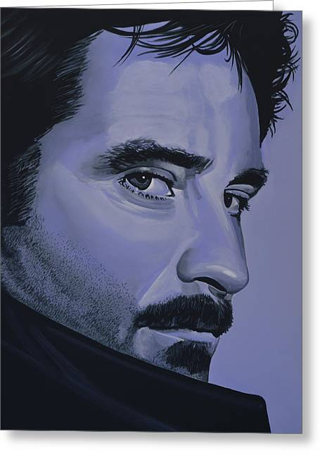 Kevin Kline Greeting Card by Paul Meijering