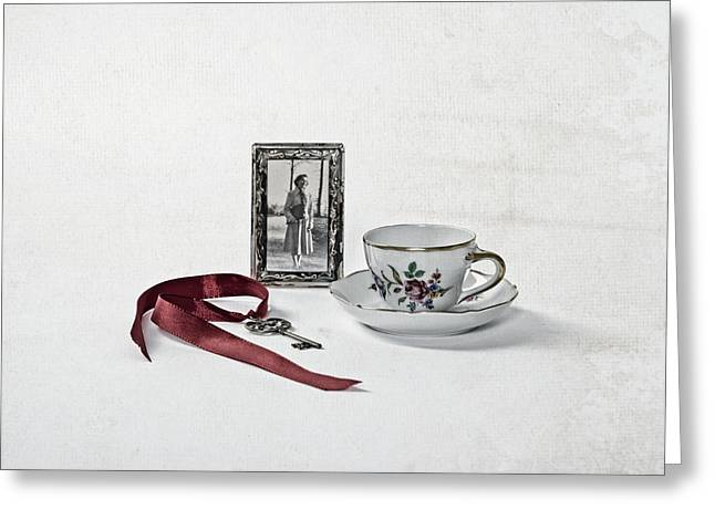 Key To My Memories Greeting Card by Joana Kruse