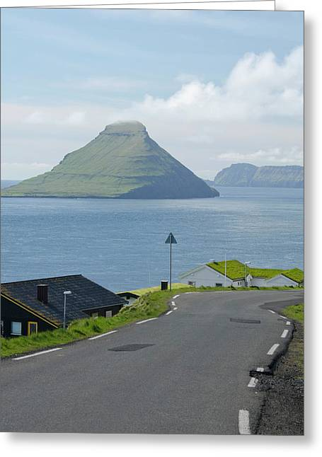 Kingdom Of Denmark, Faroe Islands (aka Greeting Card by Cindy Miller Hopkins