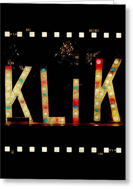 Klik Greeting Card