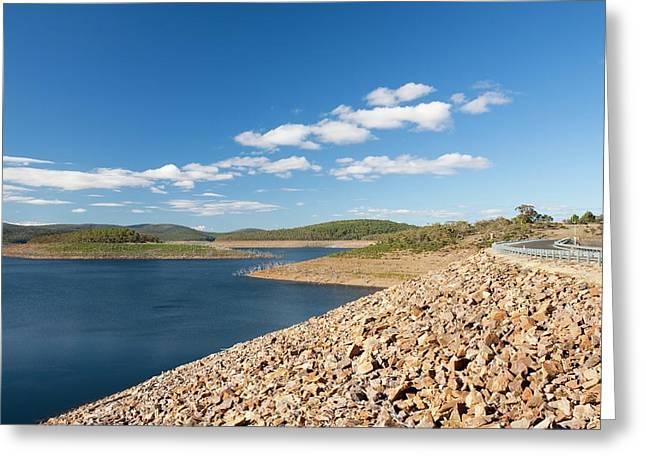 Lake Eucumbene In Drought Greeting Card