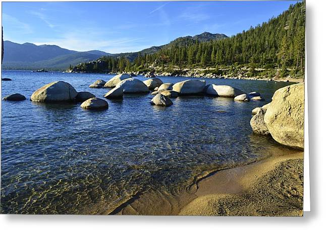 Lake Tahoe Beauty Greeting Card by Alex King