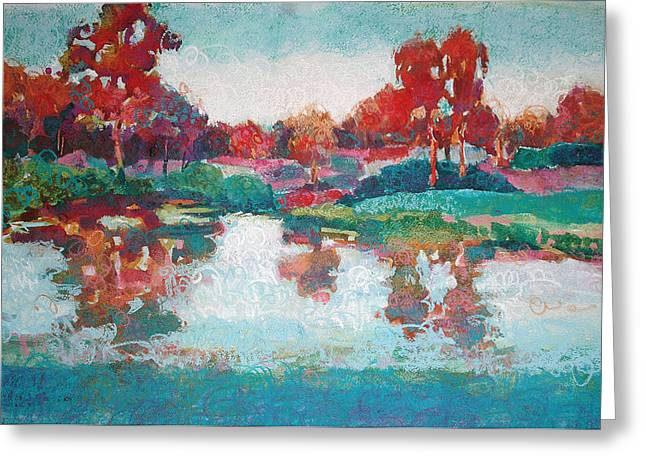 Lakeside Reflections Greeting Card