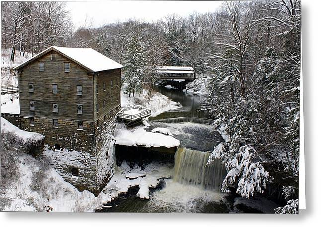 Lantermans Mill Greeting Card