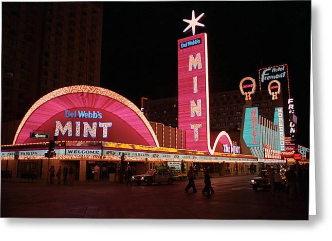 Las Vegas 1983 Greeting Card