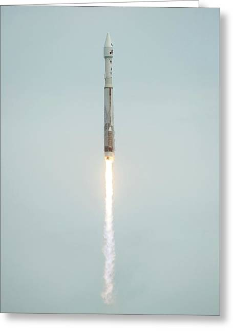 Launch Of Maven Mission To Mars Greeting Card by Nasa/bill Ingalls