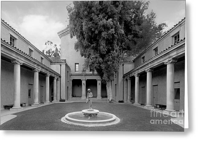 Lebus Court Pomona College Greeting Card by University Icons