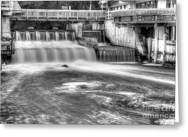 Leland River Greeting Card by Twenty Two North Photography