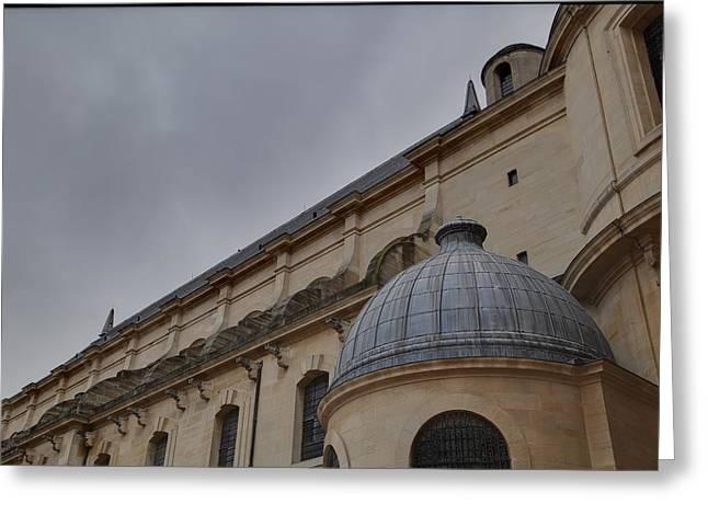 Les Invalides - Paris France - 01131 Greeting Card