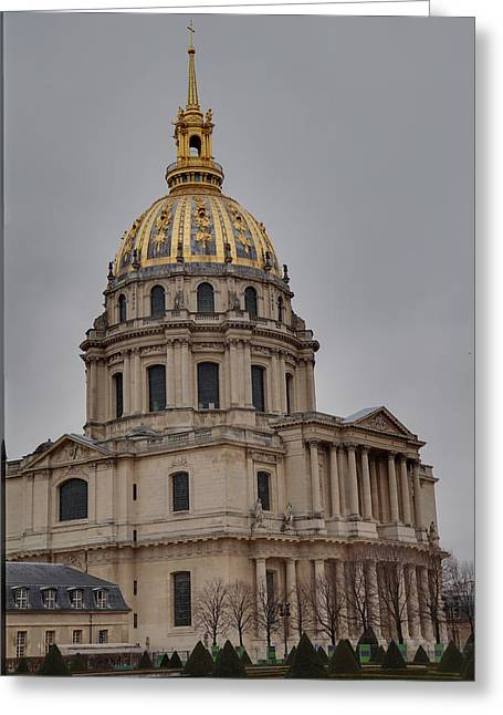 Les Invalides - Paris France - 01132 Greeting Card by DC Photographer