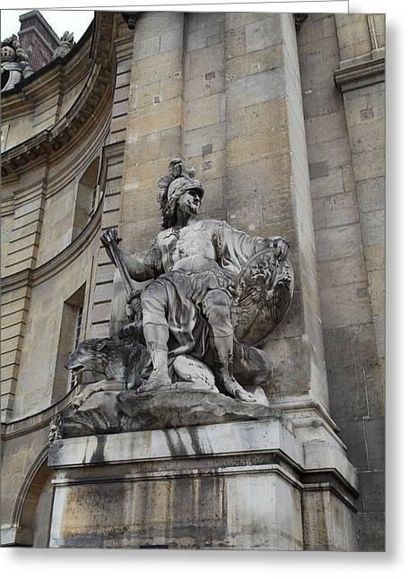 Les Invalides - Paris France - 01137 Greeting Card by DC Photographer