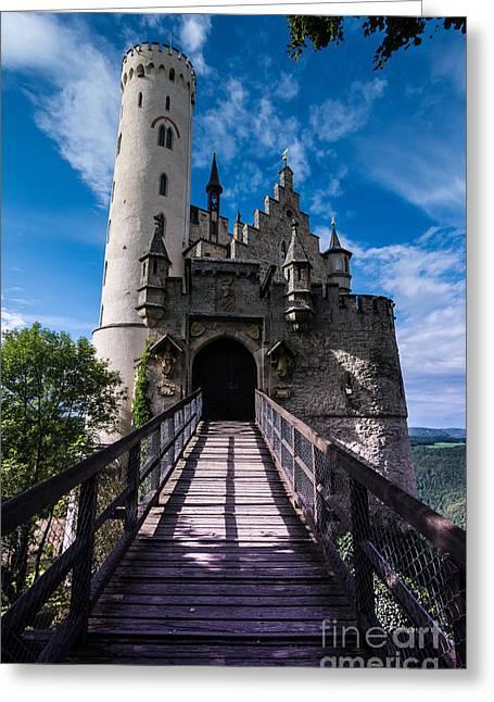 Lichtenstein Castle - Baden-wurttemberg - Germany Greeting Card