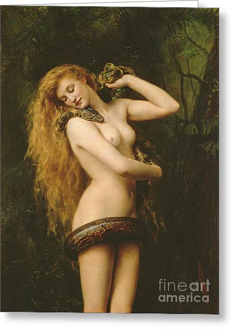 Lilith Greeting Card