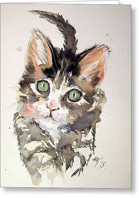 Little Cat Greeting Card