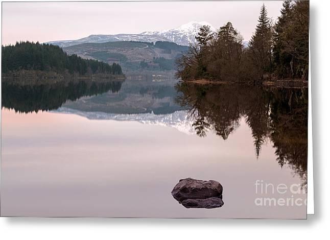 Loch Ard Greeting Card by John Farnan