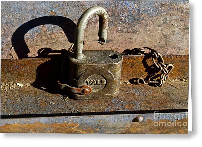 Lock Picking Greeting Card
