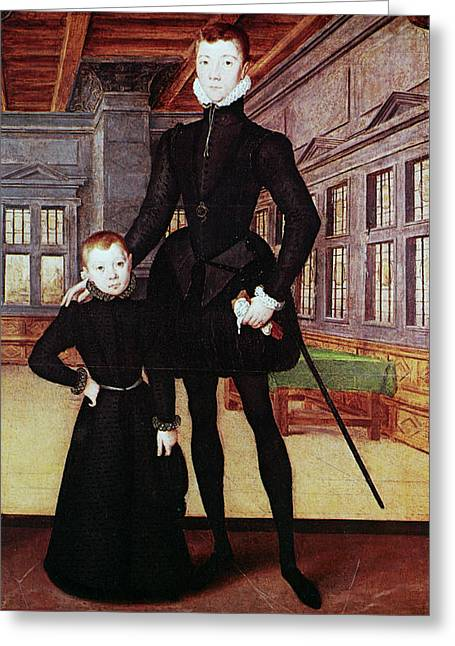 Lord Darnley (1545-1567) Greeting Card