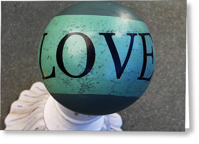 Love Letters Greeting Card by Art Block Collections