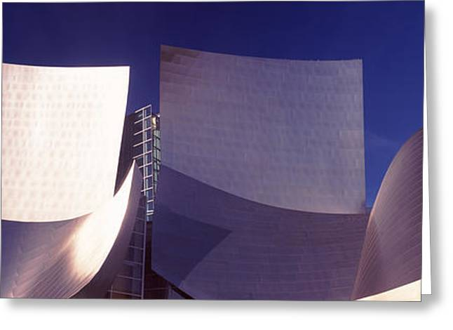 Low Angle View Of A Concert Hall, Walt Greeting Card by Panoramic Images