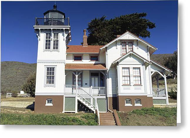 Low Angle View Of A Lighthouse, Point Greeting Card by Panoramic Images