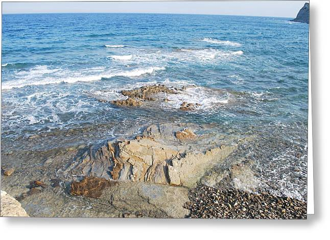 Greeting Card featuring the photograph Low Tide by George Katechis