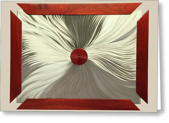 Luster Greeting Card by Rick Roth
