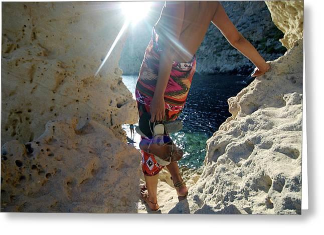Magical Atlantis In Ibiza Greeting Card