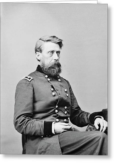 Major General Jefferson C. Davis Greeting Card by Stocktrek Images