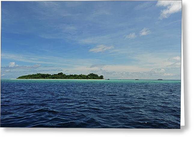 Malaysia, Borneo, Semporna Archipelago Greeting Card by Anthony Asael