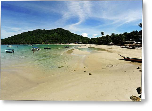 Malaysia, Perhentian Islands Greeting Card by Anthony Asael