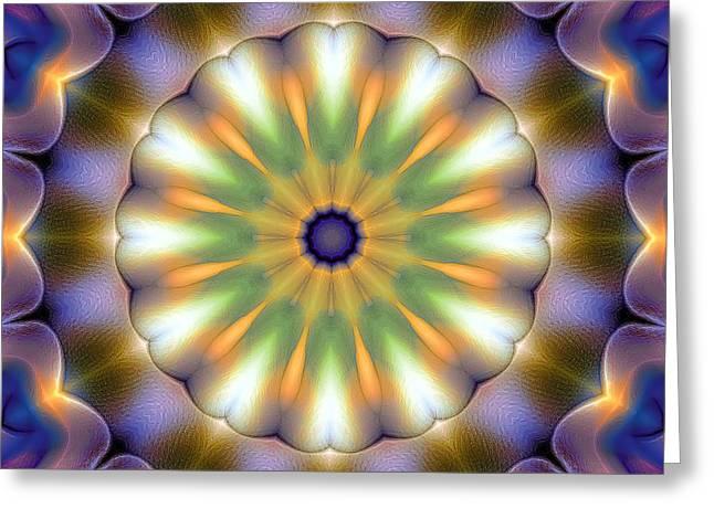 Mandala 105 Greeting Card