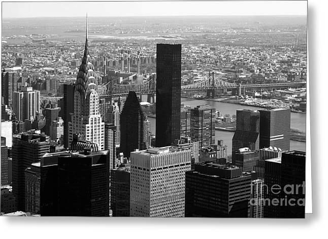 Manhattan Greeting Card by RicardMN Photography