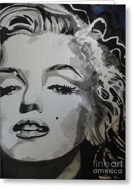 Marilyn Monroe 01 Greeting Card