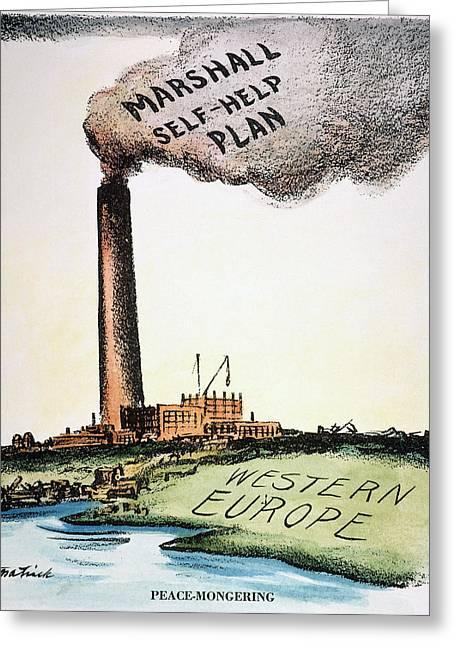 Marshall Plan, 1947 Greeting Card