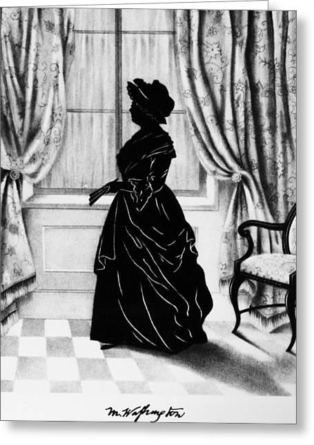 Martha Washington (1731-1802) Greeting Card by Granger