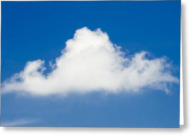 Marthas Vineyard Cloud Greeting Card