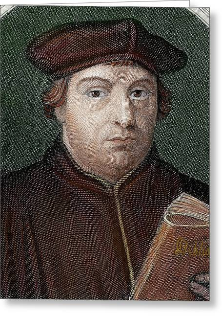 Martin Luther (eisleben, 1483 Greeting Card