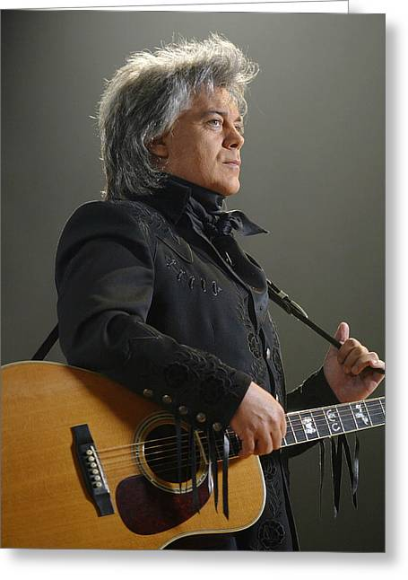 Marty Stuart Greeting Card