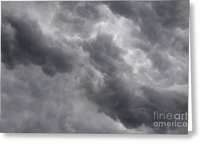 Masses Of Dark Clouds Greeting Card
