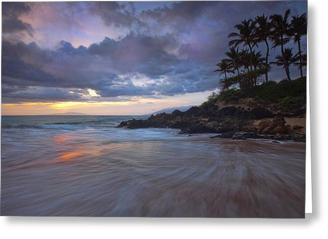 Maui Pastels Greeting Card by James Roemmling