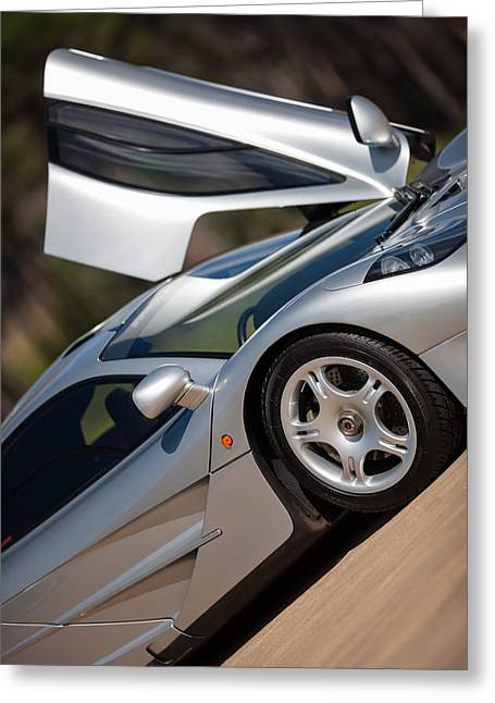 Mclaren F1 Greeting Card by George Schmahl