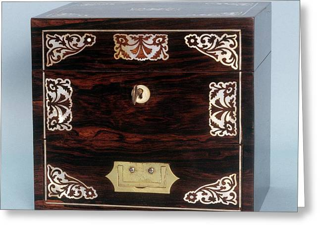 Medicine Chest Greeting Card by Science Photo Library