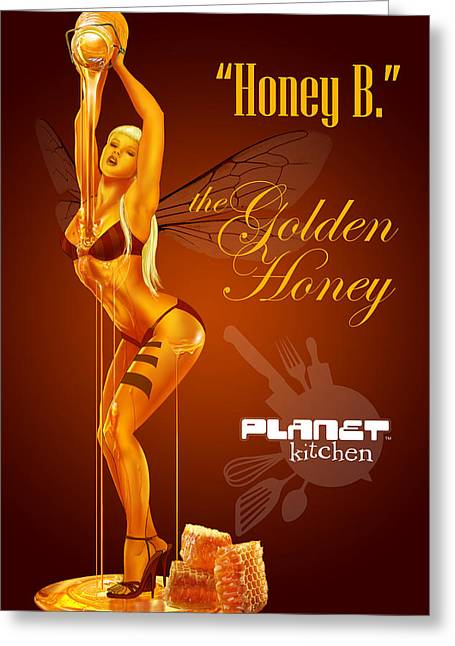 Meet Honey Bee Greeting Card by YNFWB Your new friends with BENEFITS