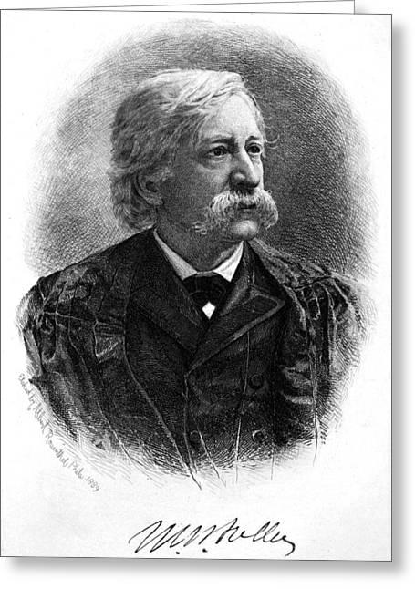 Melville Fuller (1833-1910) Greeting Card