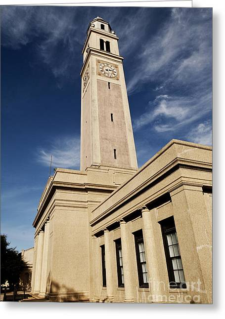 Memorial Tower - Lsu Greeting Card
