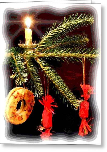 Memories Of A Christmas Past Greeting Card