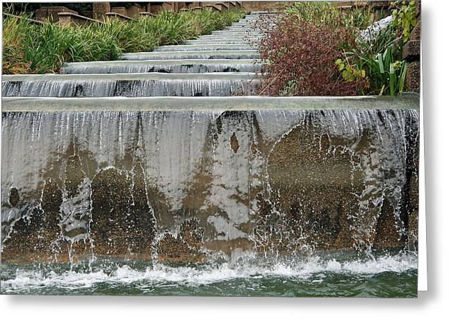 Meridian Hill Park Greeting Card by Cora Wandel