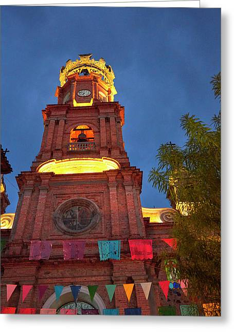 Mexico, Jalisco, Puerto Vallarta Greeting Card