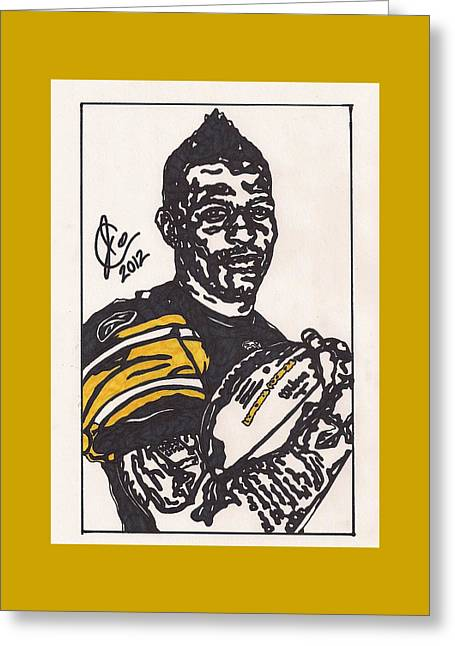 Mike Wallace 3 Greeting Card